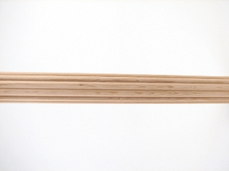 wood drapery rod