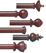 "Plantation 2"" Wood Pole Set"